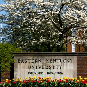 image of University sign